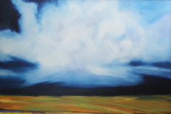 The coming Storm 30 X 36