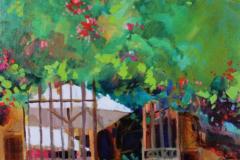 Grignan, France 12 x 16 Acrylic