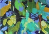 Trees 8 x 20 Acrylic Sold