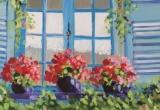 Window Box 12 x 12 Oil Sold