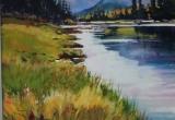 Bow Valley Provincial Park 18 x 24 Acrylic