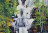 Tangle Falls Acrylic 11 x 14
