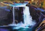 Ram Falls 16 X 20 Acrylic Sold