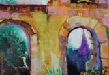 Arles, France 12 x 16 Acrylic