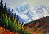 Jasper Parkway 12 x 16 Acrylic