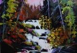 Water Falls 16 x 20 Acrylic