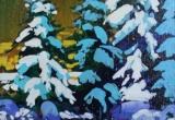 Winter 9 x 12 Acrylic Sold