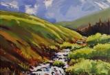 Canary Creek 16 x 20 Acrylic Sold