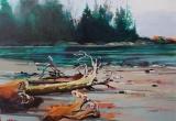 Port Renfrew, Tides Out 18x24