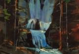 Tangle Falls Acrylic 12 x16