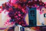 Tinos, Greek Islands 12 x 16 Acrylic. Sold.