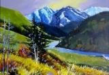 Indian Head, Alberta 16 x 20 Acrylic Sold